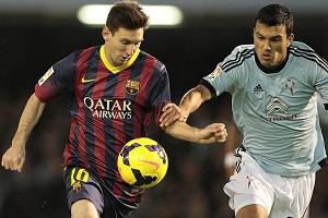 Leo Messi podchodzi do meczu derbowego z iskrą