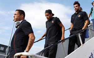 Barça wróciła do stolicy Katalonii