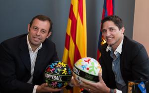 Barça rozpoczęła współpracę z fundacją Edmílsona