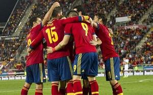 Hiszpania z trudem pokonała Białoruś (2-0)