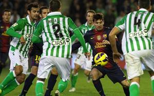 Betis-Barça w niedzielę o 21:00