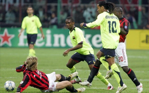 """Belletti: Między Ronaldinho, a Eto""""o była zazdrość"""