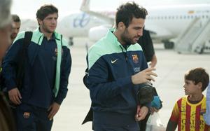 Barça wylądowała w Pampelunie