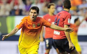Messi strzelił Osasunie 16 goli
