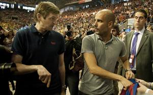 Tito Vilanova i Pep Guardiola spotkali się w Barcelonie