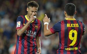 Neymar i Alexis mają cztery dni na odzyskanie formy