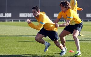 Puyol i Xavi mogą pokonać Migueliego