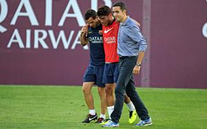 Dos Santos doznał kontuzji więzadła w prawym kolanie