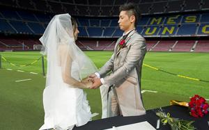 Ślub na Camp Nou na 48 godzin przed El Clásico