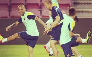 """Alves zachęca do obejrzenia """"najlepszego klasyku na świecie"""""""