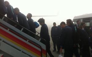 Barça wraca do stolicy Katalonii we mgle