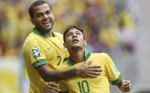 Alves i Neymar