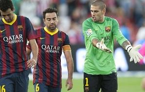 Víctor Valdés i Xavi zawsze przeciwko Celtikowi