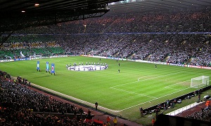"""This is paradise"" na Celtic Park"