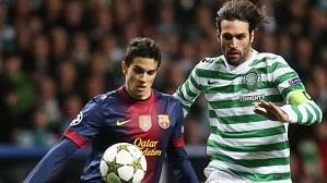 Bartra ponownie na Celtic Park