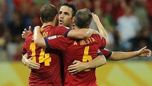 Piłkarze Barcelony na wyjeździe