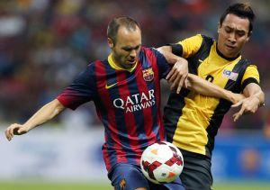 Iniesta: Barça będzie zadowolona z Neymara