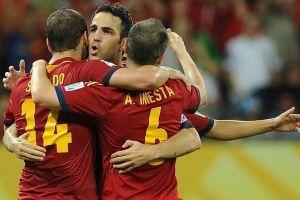 Del Bosque powołał siedmiu graczy Barçy