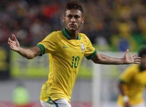 Neymar strzela, Brazylia wygrywa