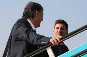 Messi i Martino rozmawiali podczas podróży do Mediolanu