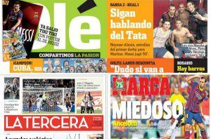 Międzynarodowe media podkreślają zwycięstwo Barçy