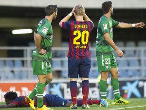 Goście zdobywają Mini Estadi: FC Barcelona B – SD Eibar (0:2)