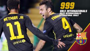 999 bramek w rozgrywkach międzynarodowych