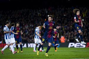 FC Barcelona – RCD Espanyol; Składy