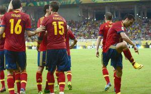 Pięciu graczy Barçy w kadrze La Roja