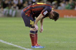 Dziesięć meczów bez Messiego
