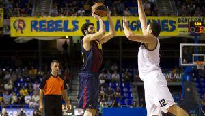 Ważne zwycięstwo; Partizan – Barcelona 64:82
