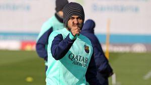 Adriano i Alves trenowali z grupą