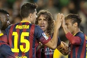 Barcelona, najlepszy lider Europy