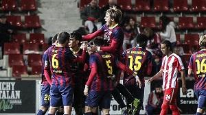 Barça B pokonuje Gironę