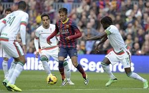 Neymar, dużo chęci i zero bramek