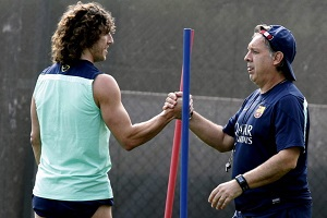 Carles Puyol jeszcze nie w pełni sił