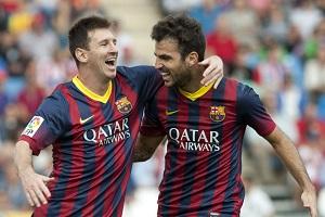 Powrót duetu Fàbregas-Messi