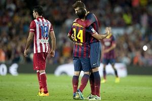 Piqué: Powinniśmy postawić Mascherano pomnik
