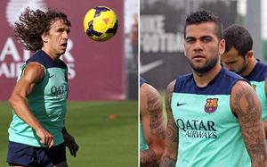 Puyol i Alves nie zagrają na San Mamés