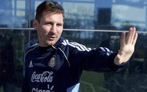 Messi wylądował już w Argentynie