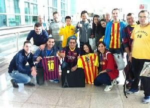 Barça wylądowała w Sewilli