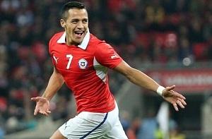 Alexis pokonuje Anglię
