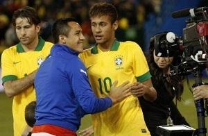 Neymar vs Alexis