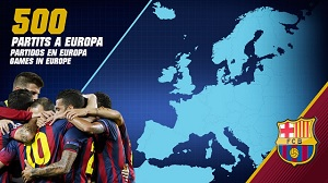 500 meczów Barçy w Europie
