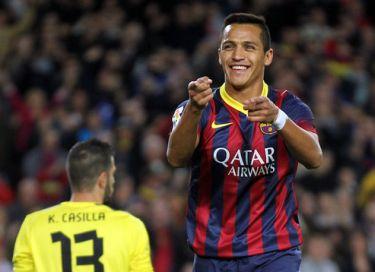 Alexis daje zwycięstwo w derbach: FC Barcelona – Espanyol (1:0)