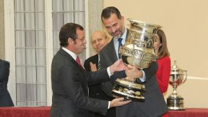 FC Barcelona  z Narodową Nagrodą Sportu
