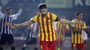 Statystyki z meczu FC Cartagena – FC Barcelona