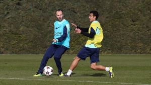 Xavi, Iniesta i Tello powrócili do treningów