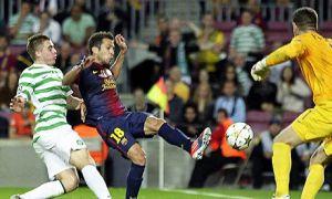 FC Barcelona – Celtic; Składy