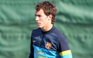 """Grimaldo zimowym """"transferem"""" Barçy B"""